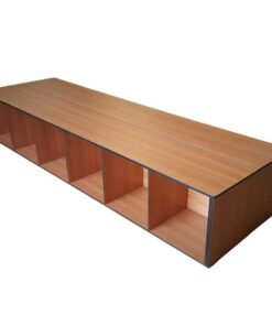 Bench Cubby (6 Cubbies) from Summit Lockers